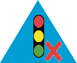 fault triangle Traffic Lights