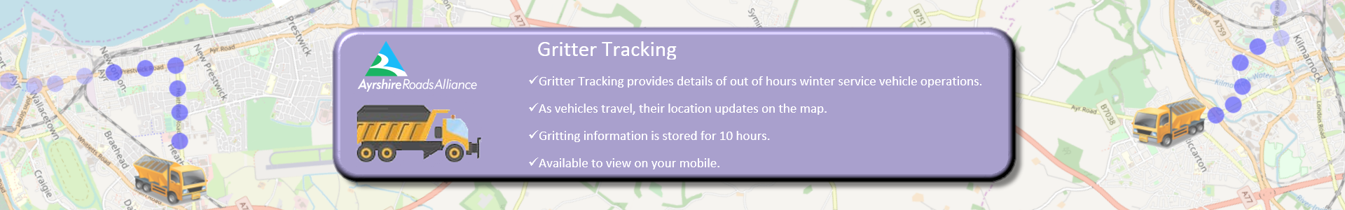 Gritter tracking